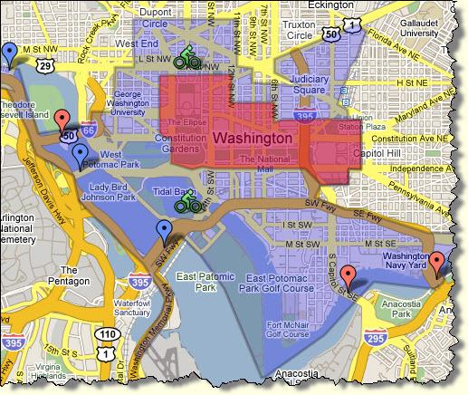 Inaugural Map