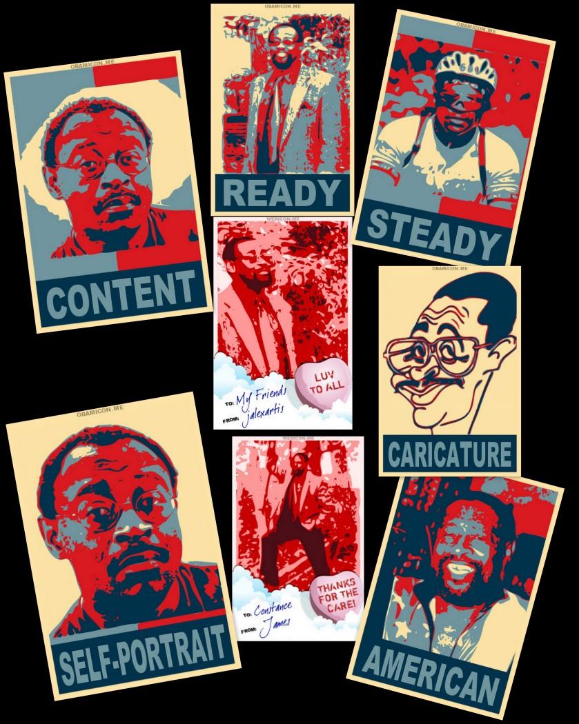 Obamicon Collage