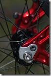 Rear Wheel, w/modified [sans] derailleur hanger