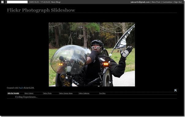 Flickr Photo Slideshow