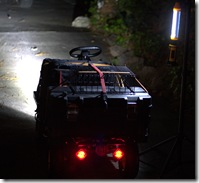 WebCam Transport Cart Lighting