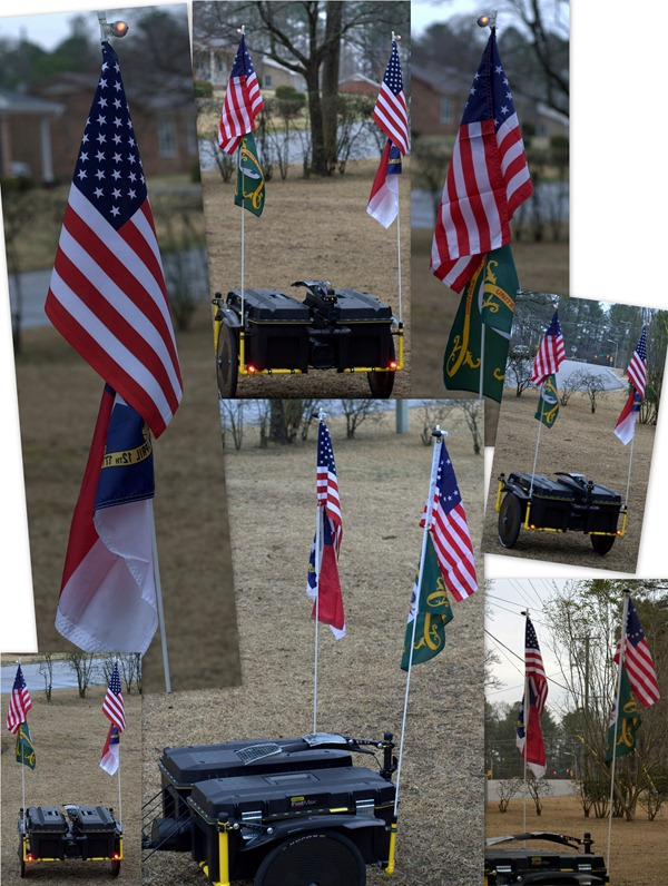 Trailer Flags Collage