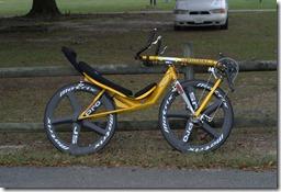 The bike she rode--Cruzbukke Vendetta