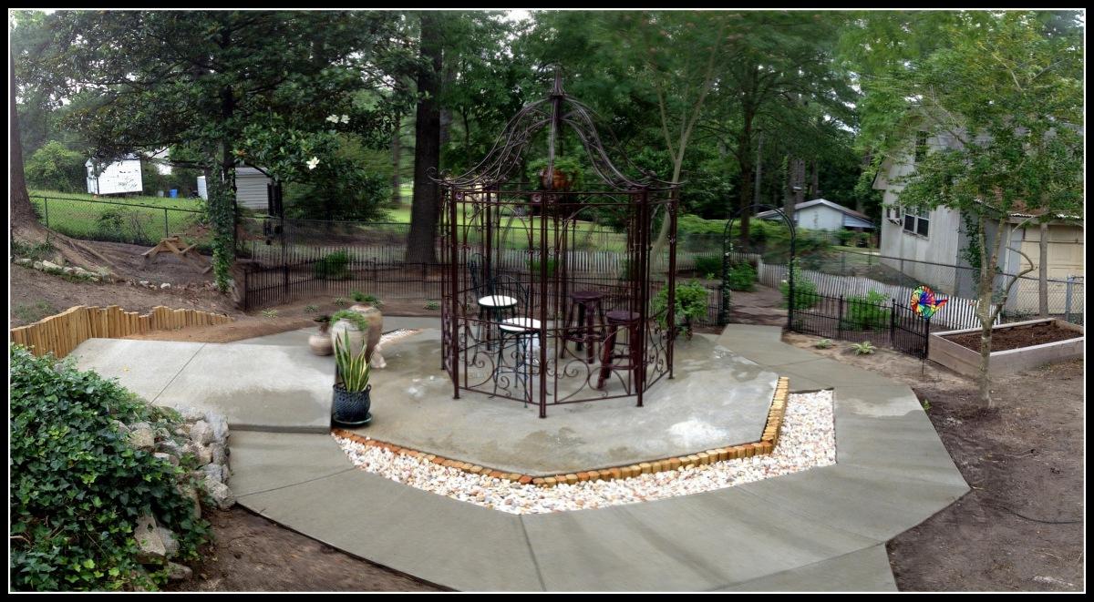 Home ~ Backyard ~ Gazebo ~ Decorating planning,06/05