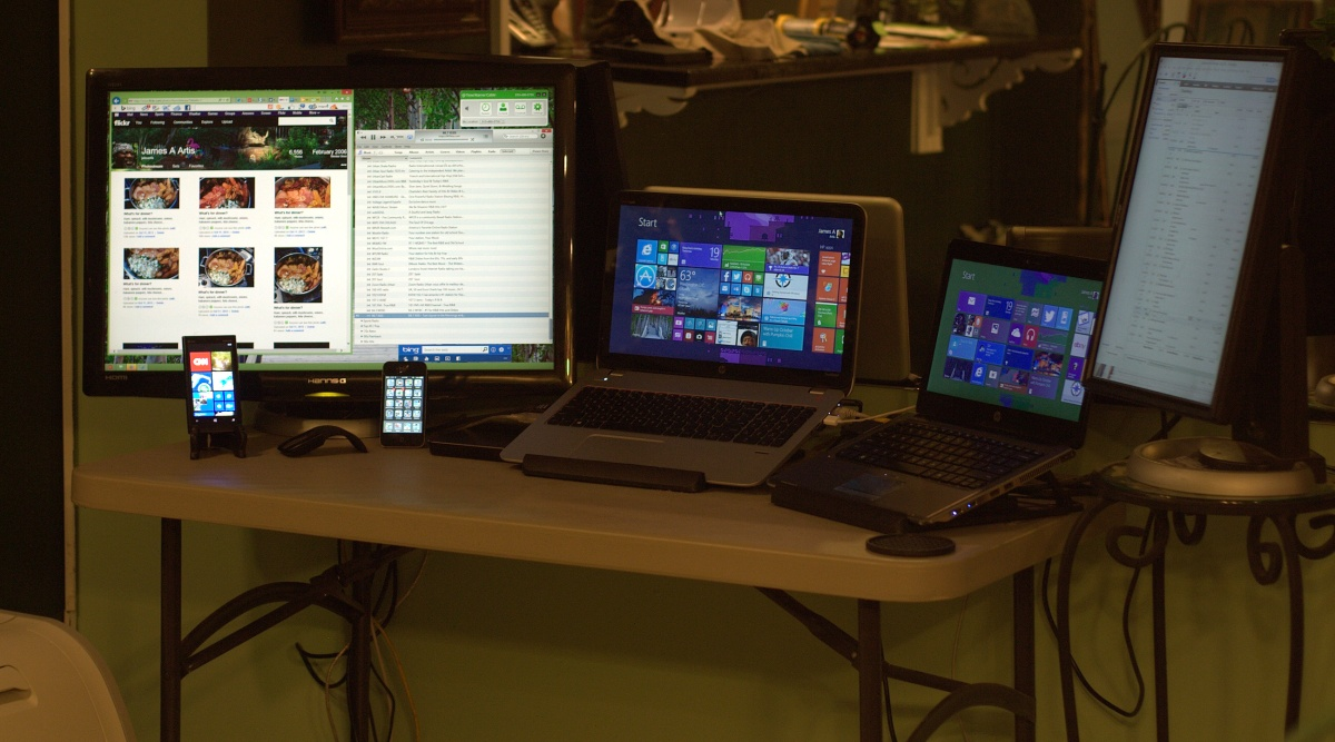 Technology ~ The Mothership–My corner of the room