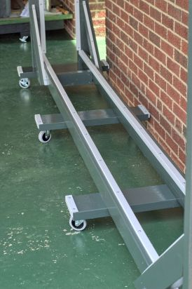 Rail Molding & Bumpers [screws in]