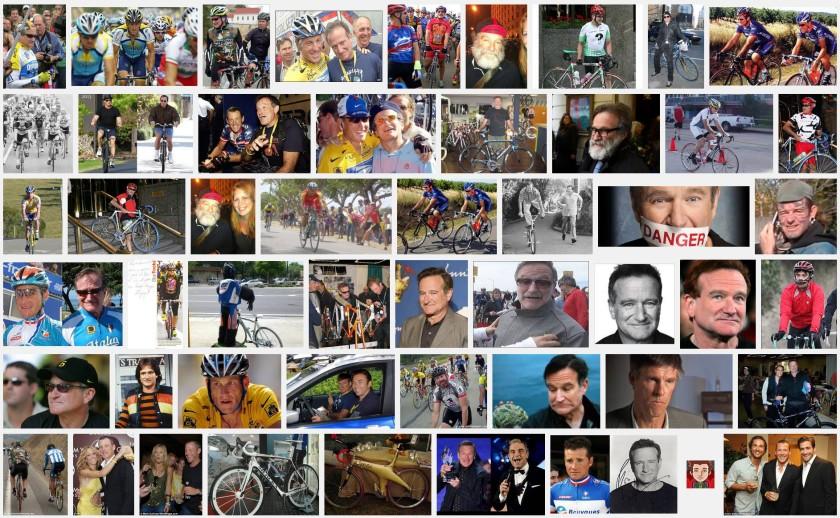 Robin Williams--Cyclist