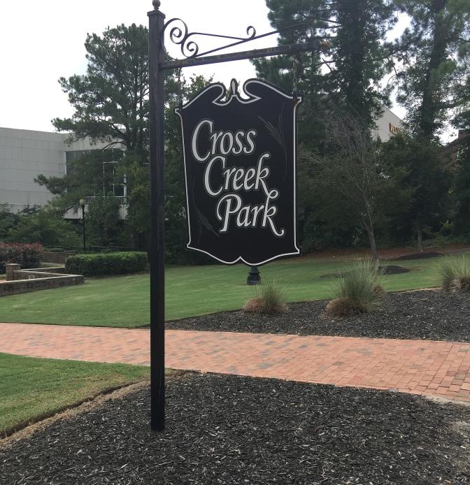 Green Street park entrance.