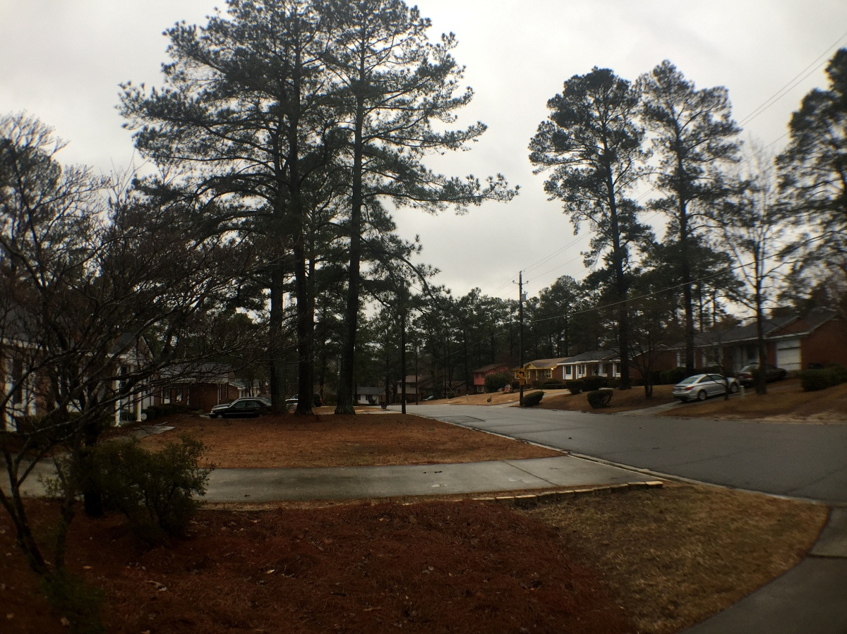 Weather ~ The snow that wasn't, Fayetteville, North Carolina,02/26