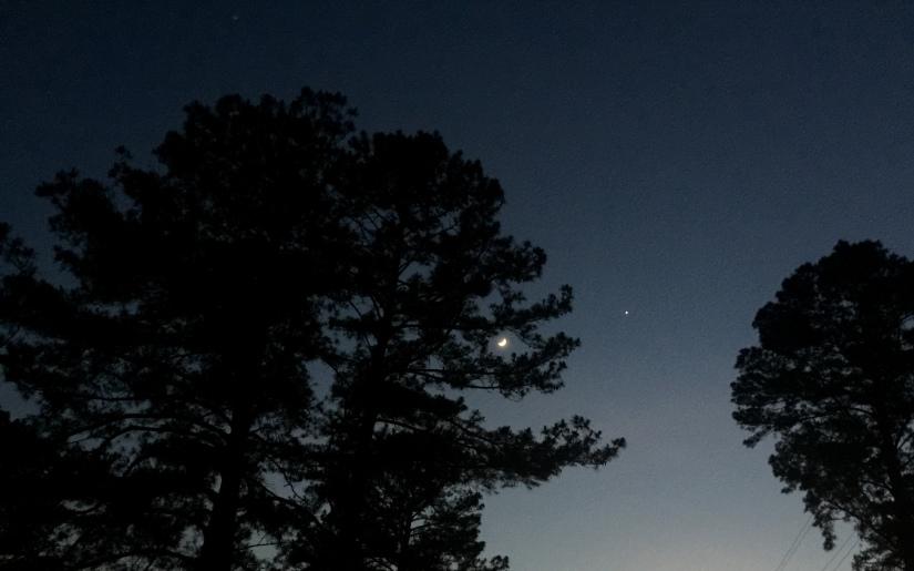 Photography ~ Astronomy ~ Moon-Venus Conjunction,05/21