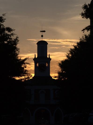 Near sunset, Market House, Fayetteville, North Carolina