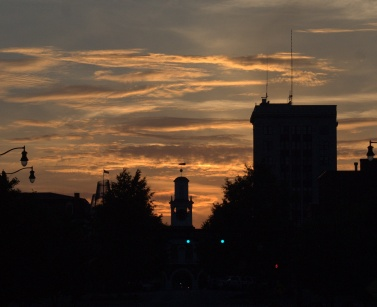 Sunset, Downtown Fayetteville, North Carolina