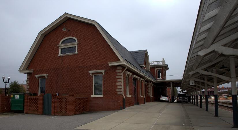 Architecture ~ Fayetteville, North Carolina Amtrak Station, Circa 1911,11/04