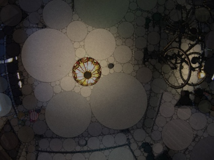 Percolator 2.4 (2.4) Grind: Extra Fine (Average Circles & Effect: Auto Adjust), Brew: Circles (1/2 Pic & 1/4 Blended Circles), Serve: Black (Clear Tone & Paper Cup Texture)