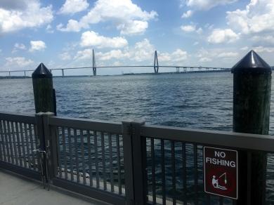 US 17 Bridge. I have biked across the Arthur Ravenel Jr. Bridge 3 times
