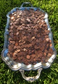 Pennies on a Silver Platter