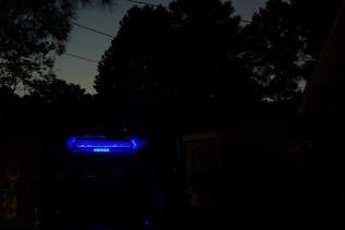 blue lighting at dawn