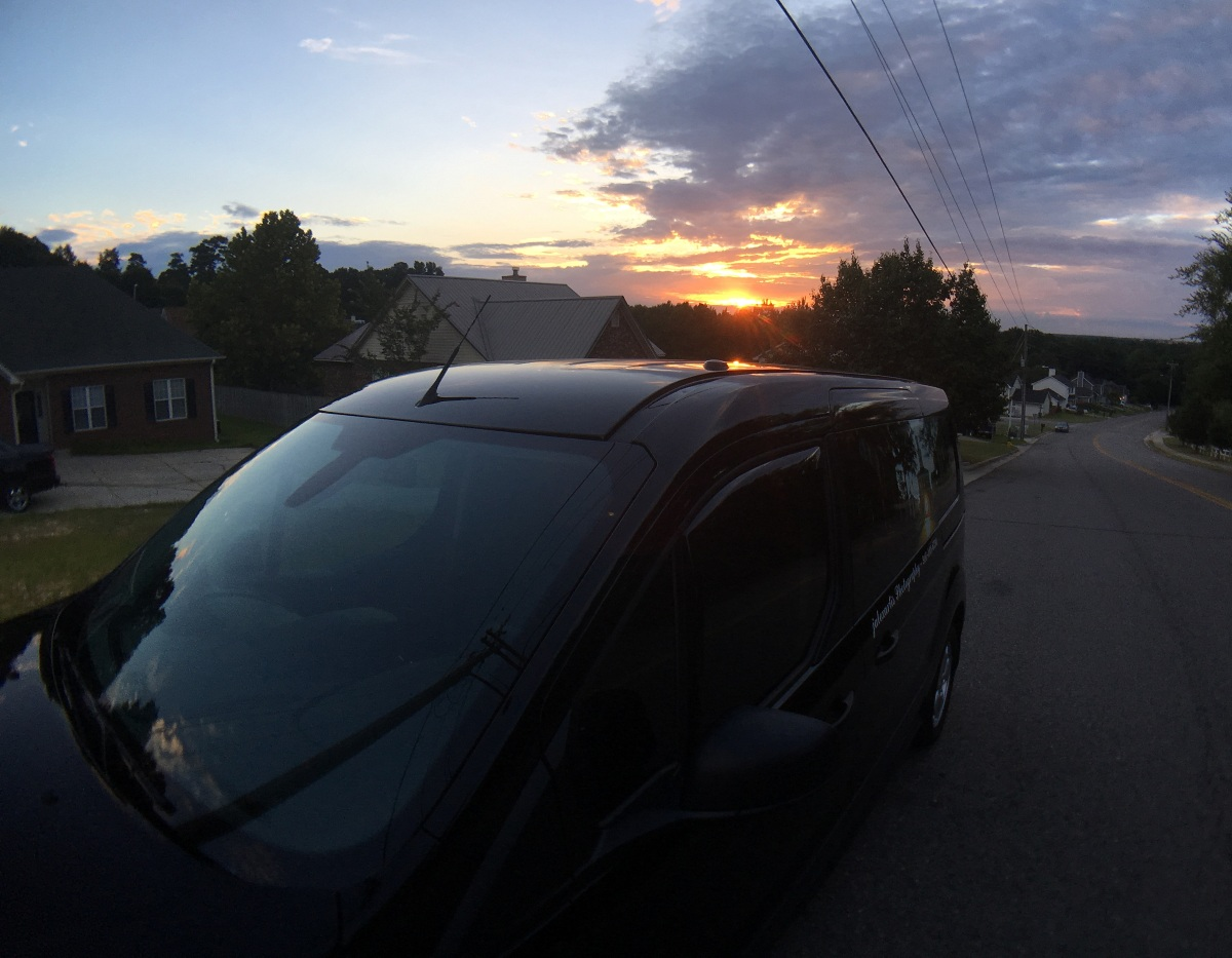 Photography ~ Sunrise–North Fayetteville, North Carolina, [with my FTC], 08/19