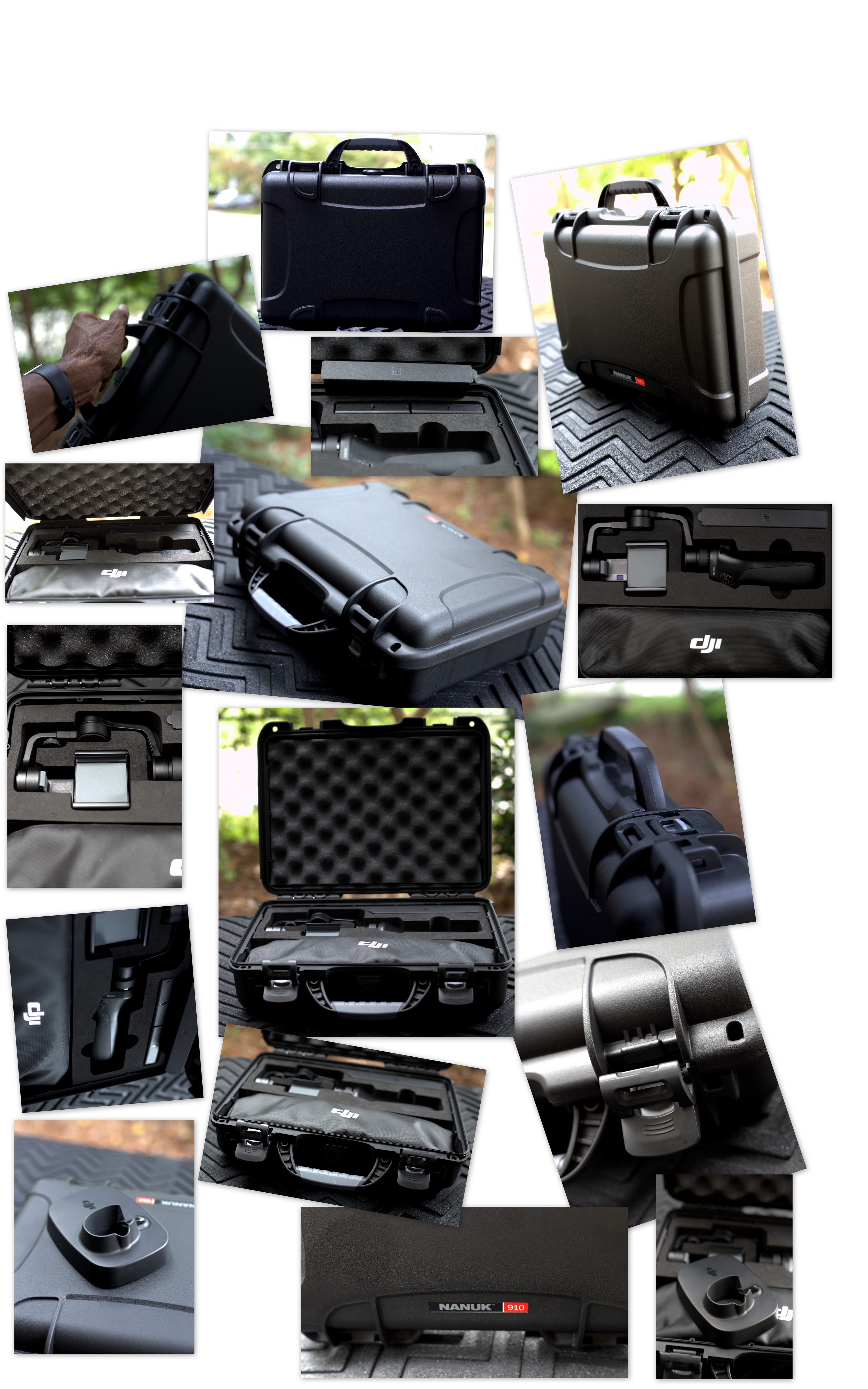 Osmo Mobile Bag Dji Forum Free Base I Wish Could Fit My In The Case With Contents Tripod Extension Rod Battery Charger Power Cord And Arca Swiss Plate For