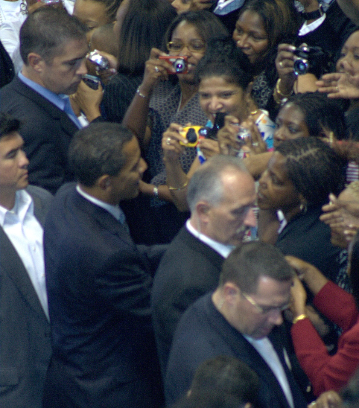 Event ~ Change We Need Rally, Barack Obama–Crown Coliseum, Fayetteville, North Carolina, Sunday[10/19/2008]