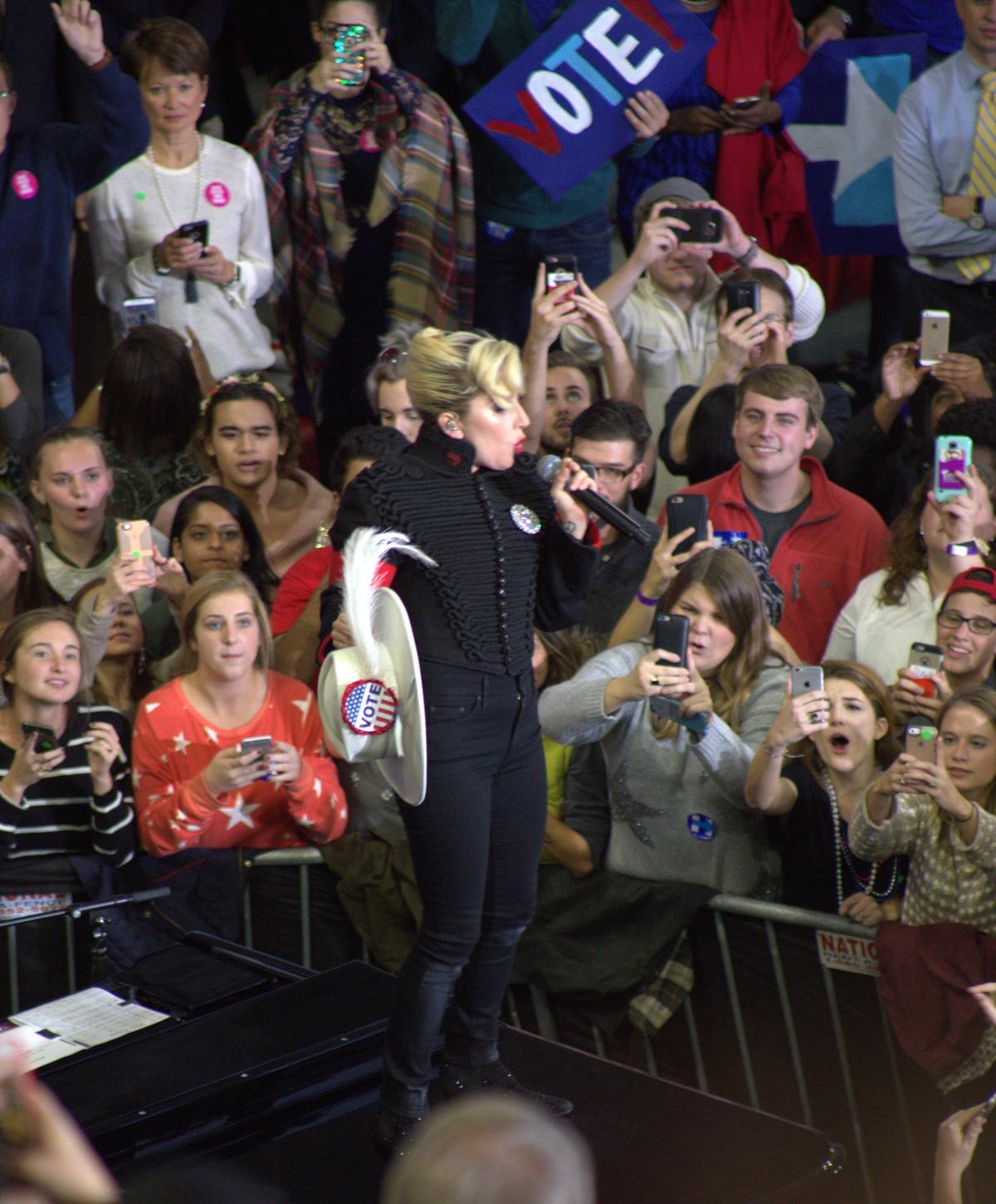 Event ~ North Carolina State University [NCSU], Raleigh, North Carolina–Lady Gaga,11/07