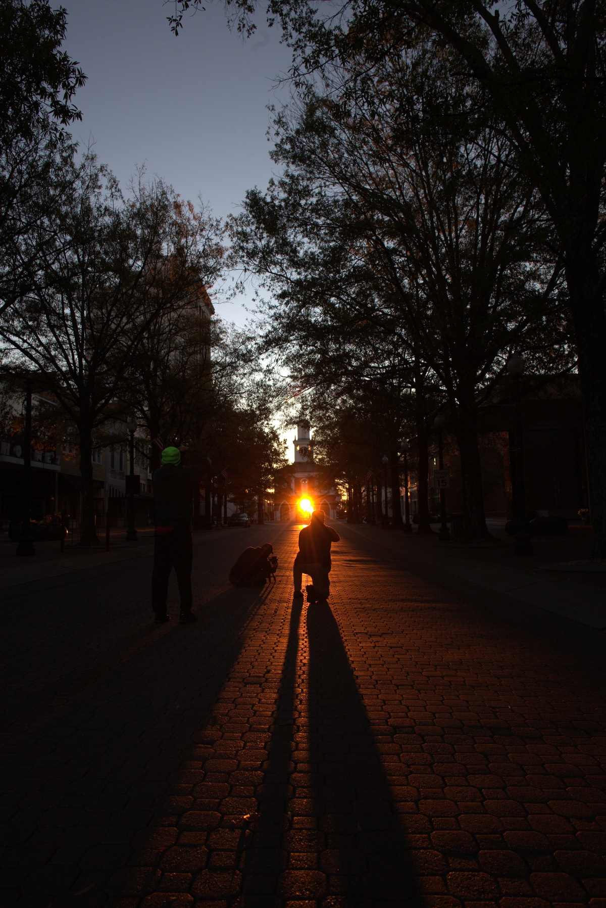 Photography ~ The Fayetteville Market House, Veterans Day Sunrise–the day before,11/10/16