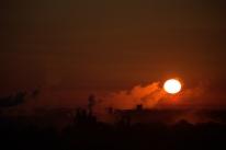 A bit higher in the sky--sunrise + 9 minutes