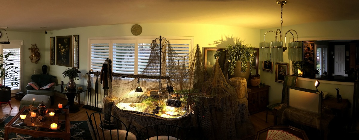 Photography ~ DJI Osmo Mobile 9-Picture Panorama [early morning–10/31], Virtual Reality,12/27