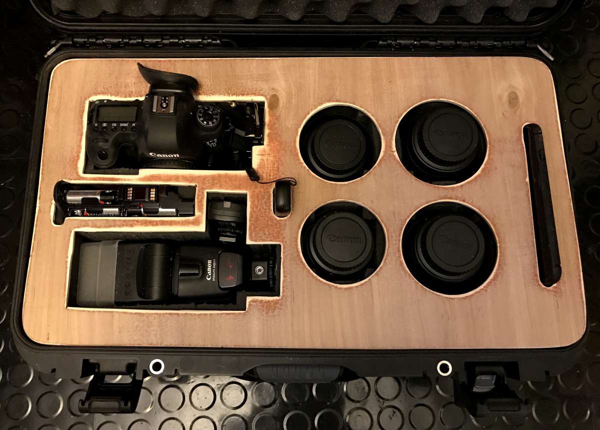 DIY ~ A plywood cover for my Nanuk DSLR & Lens Case–Progress Report, 01/05