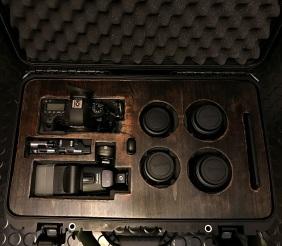 Plywood Cover for my Nanuk DSLR & Lens Case
