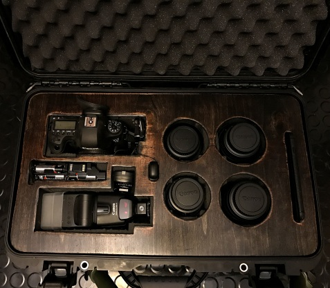 Plywood Cover for my Nanuk DSLR & Lens Case