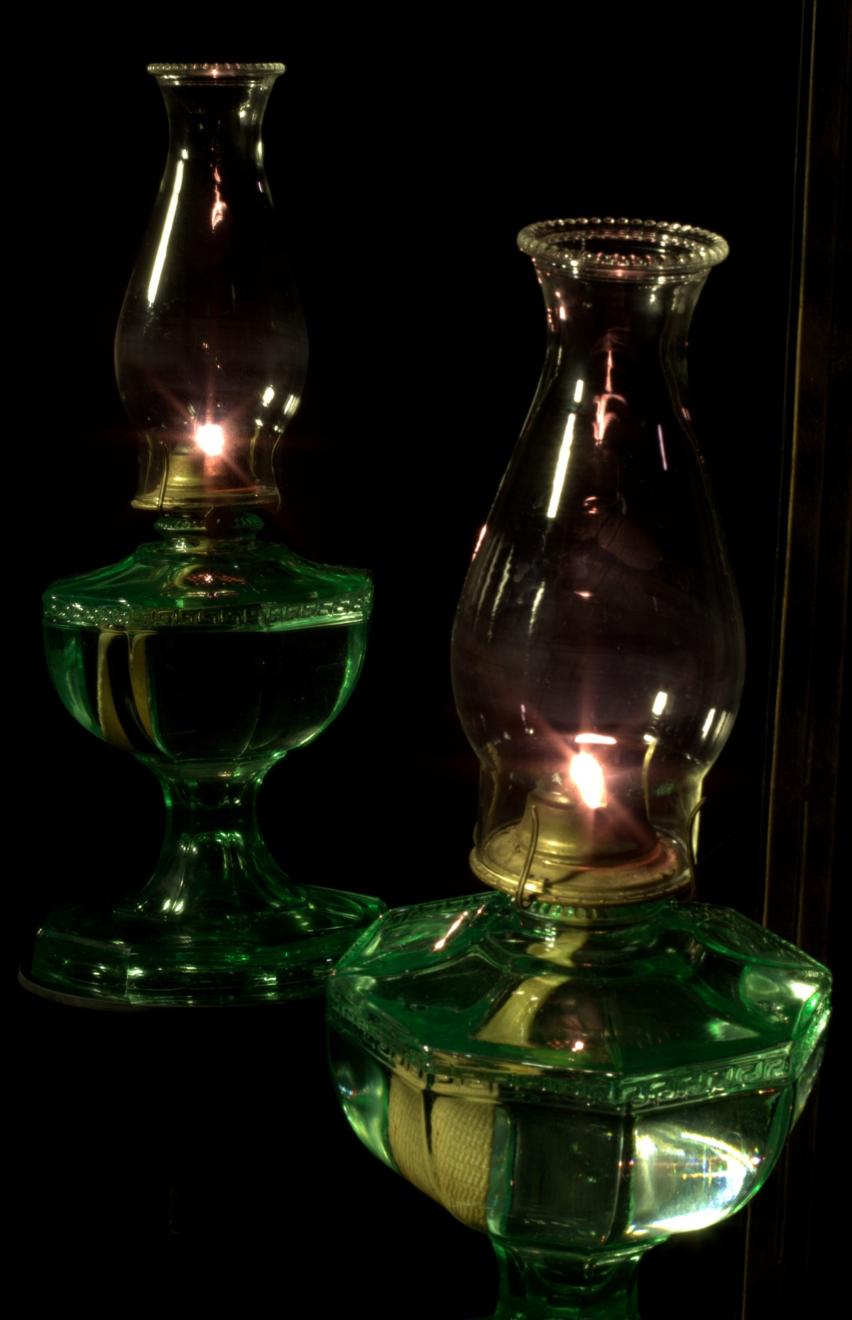 Photography ~ Still Life–Kerosene Lamp, 01/30