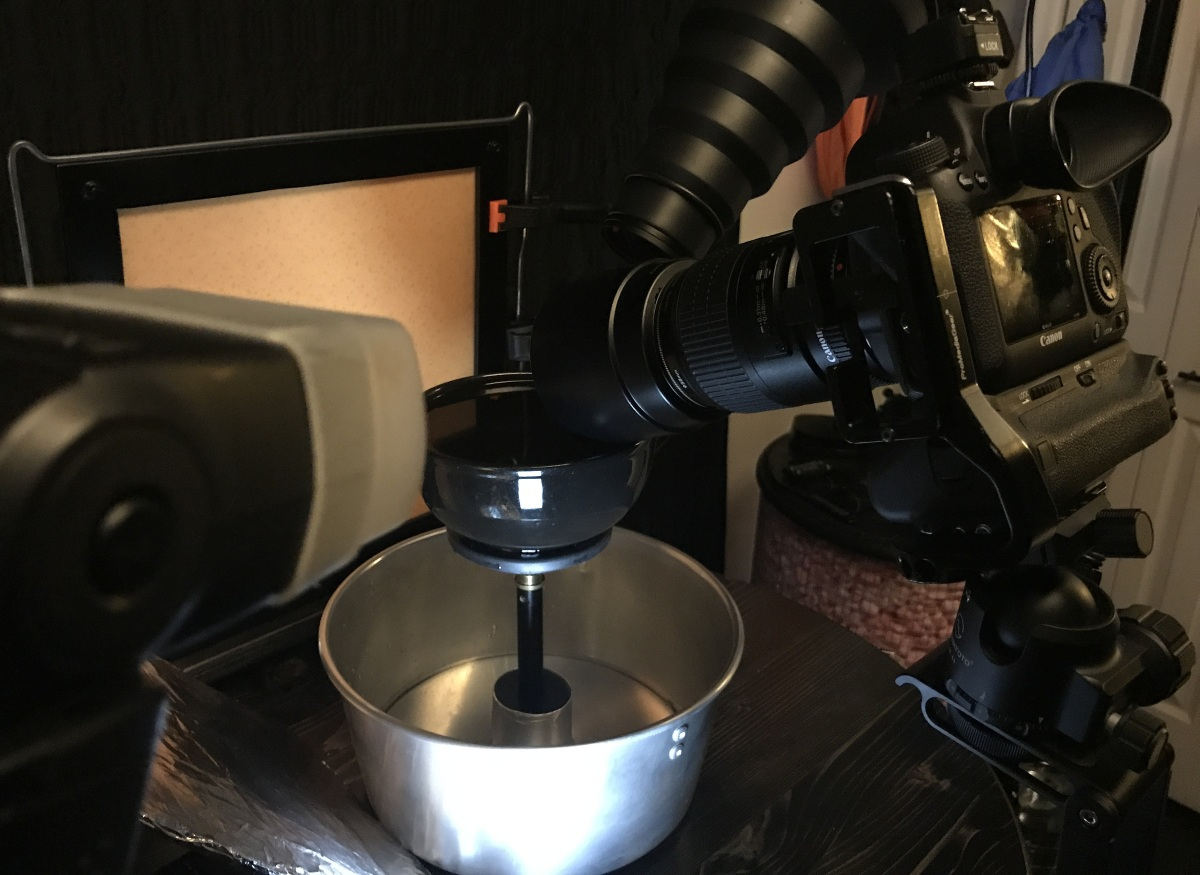 Collision Photography ~ Water Droplets–Setup Update,02/22