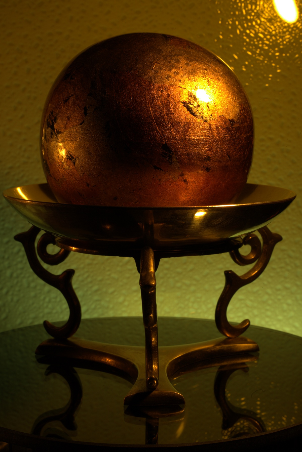 Photography ~ Photographer's Table–A Sphere in a Dish, 02/15