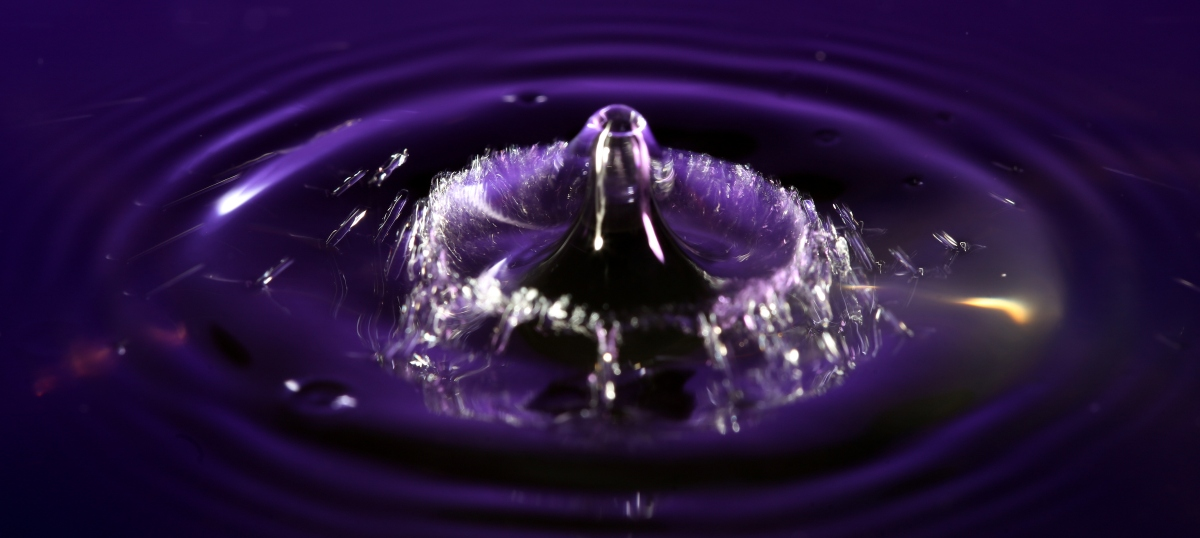 Collision Photography ~ Water Droplets–Getting Started, 02/21