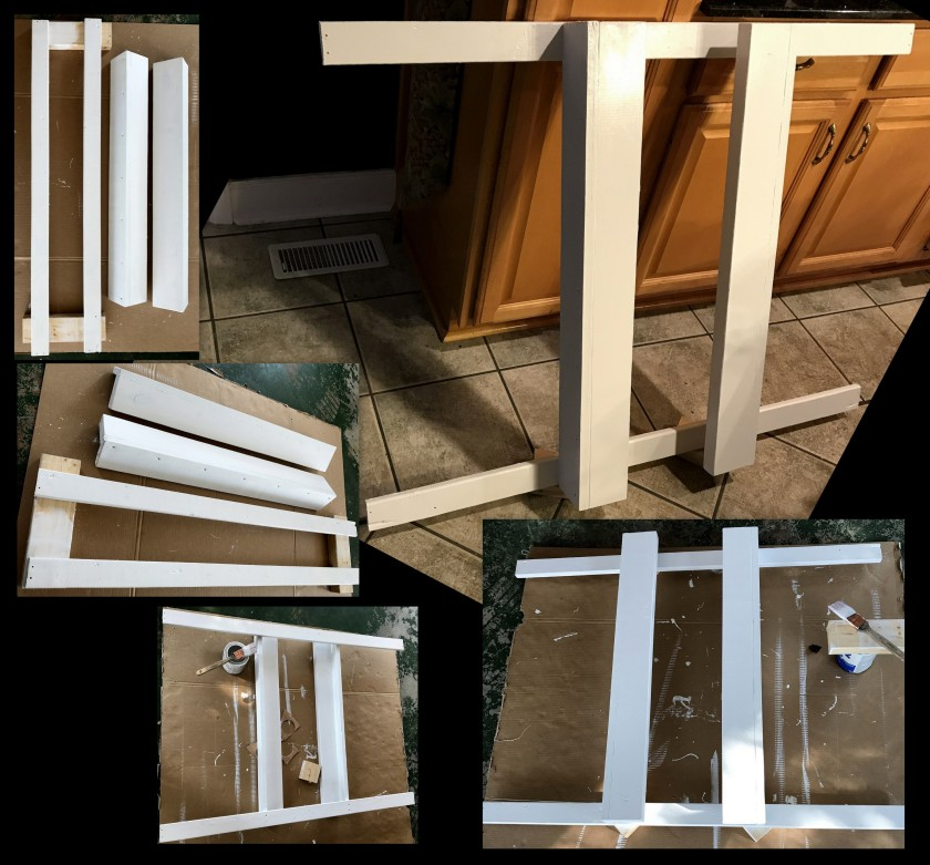 DIY # 17--Ceiling Rack