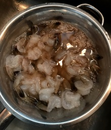 Shrimp in Cooking Sherry Merinate