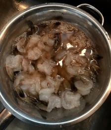 Shrimp in Cooking Sherry Merinate