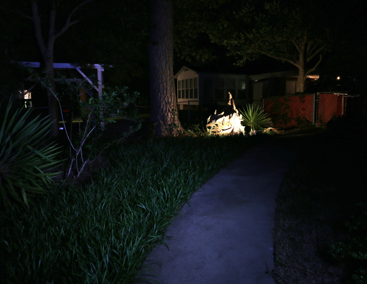 Photography ~ Night–Backyard Landscaping, 05/18