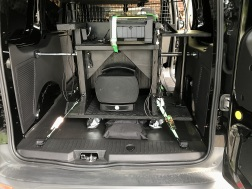 dslrBooth Cart has a home in the van for mobile shoot & print