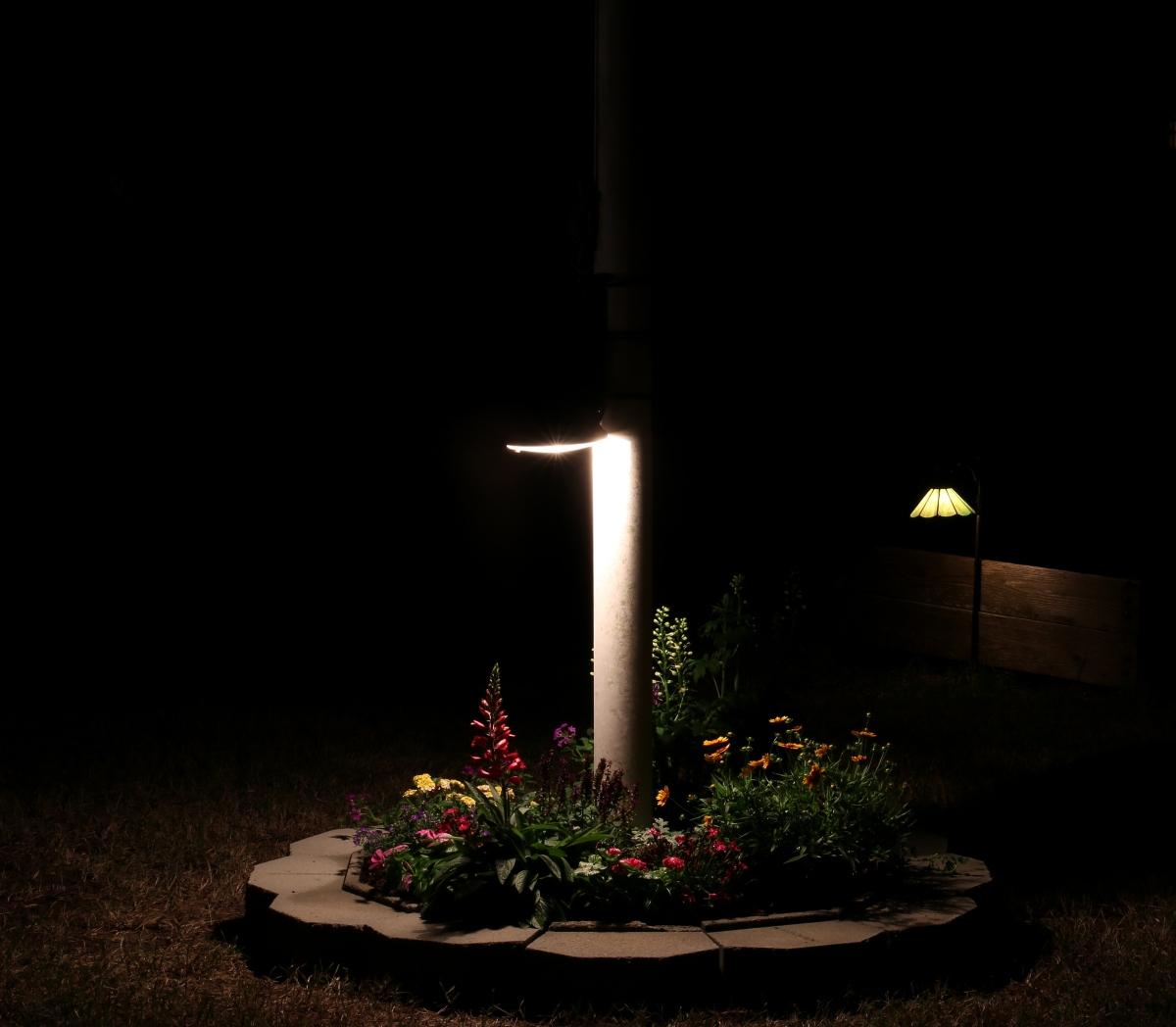 DIY [# 23] ~ Landscape–Flagpole Light,06/02