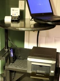 Printer and iPhone backup HotSpot