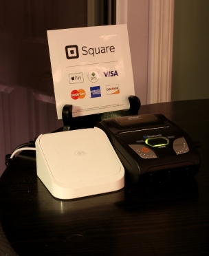 I'll use a second iPoone with the Square App for POS
