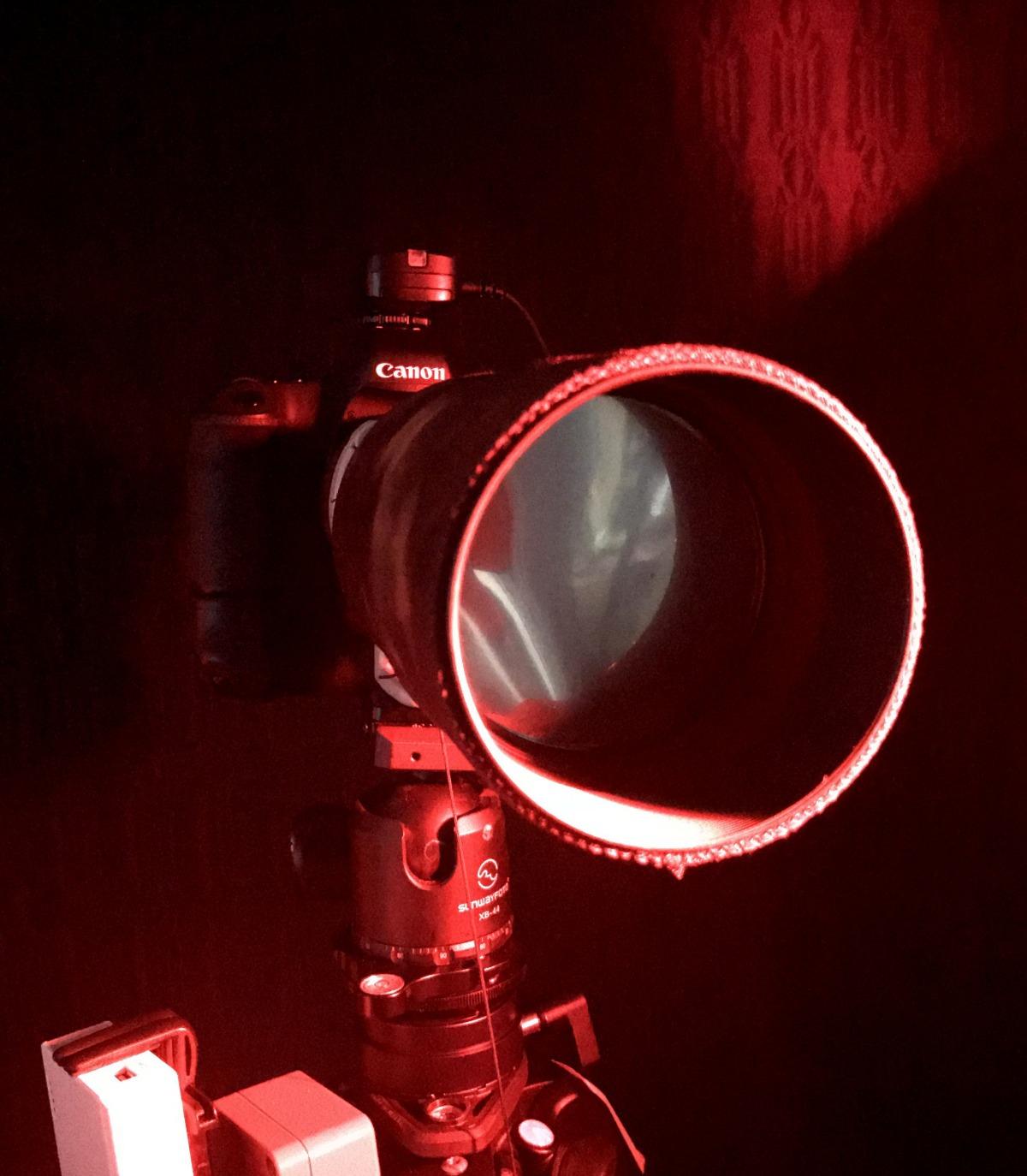 DIY [#28] ~ Canon EF 400mm f/5.6L USM Lens Solar Filter, now with hood,08/01