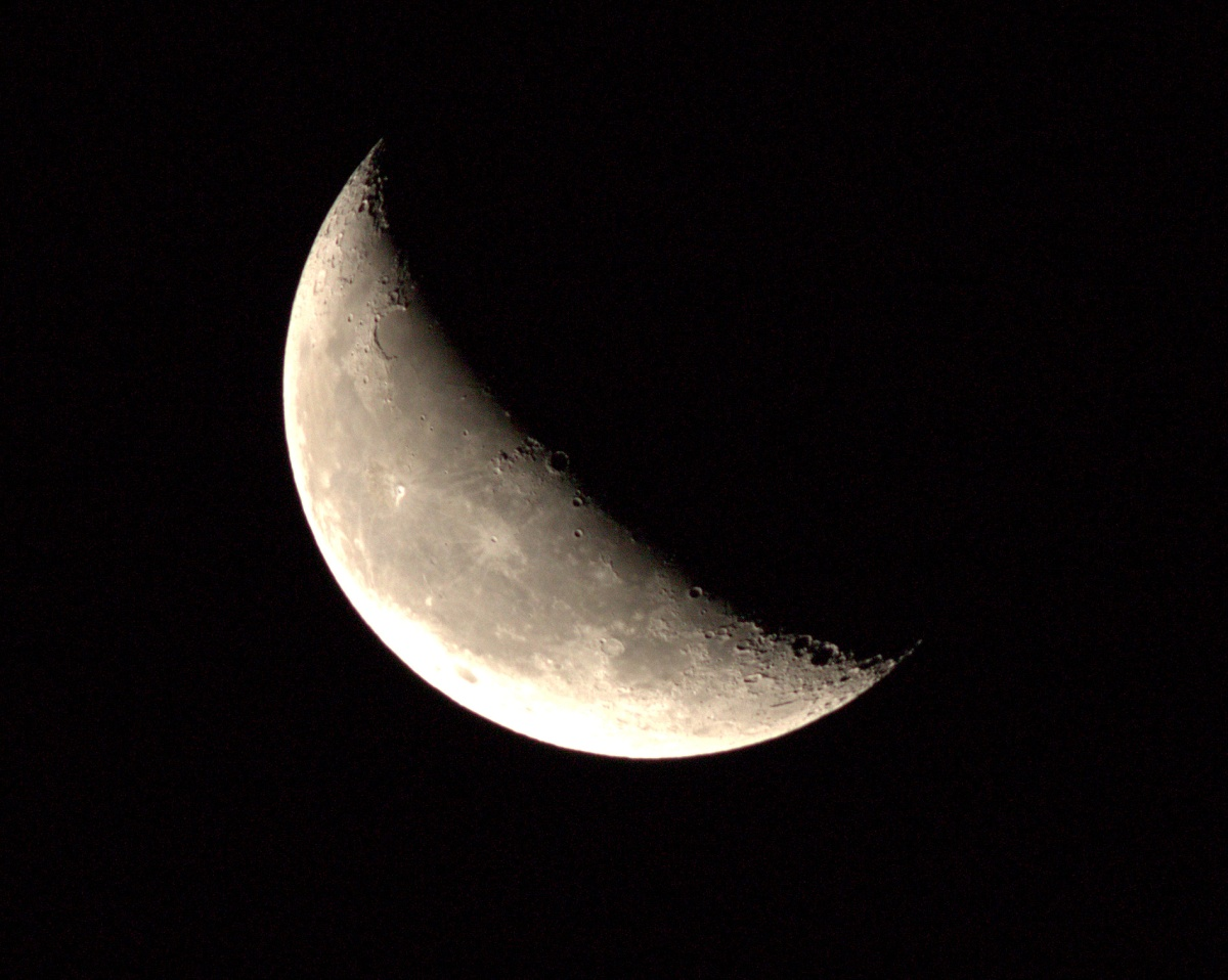 Photography ~ The Moon [after dark], Fayetteville, NC–400mm Super Telephoto, + Extender EF 2X III = 800mm, 08/16