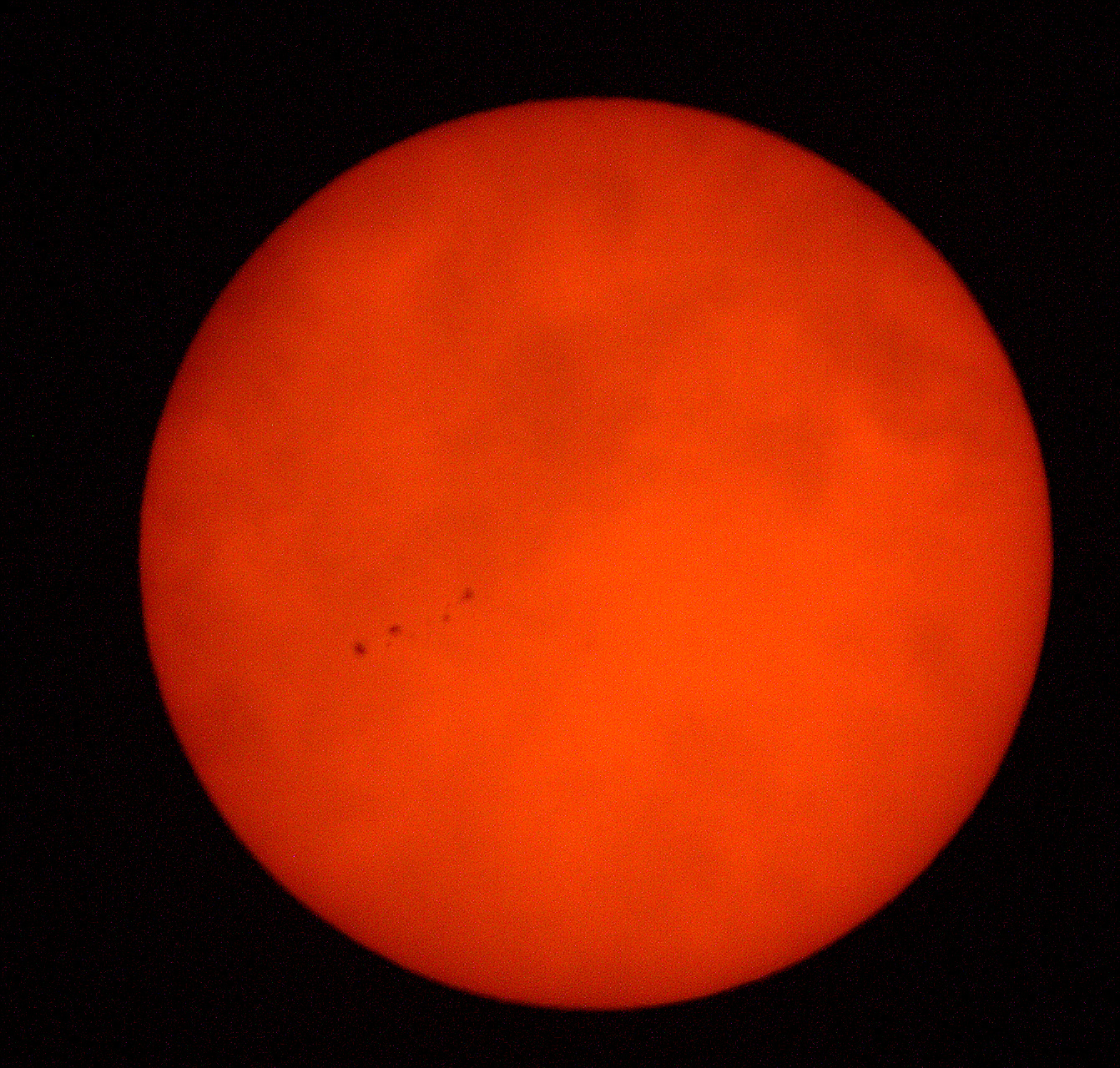 Photography ~ The Sun, 800mm Super Telephoto taken at First Presbyterian Church, Fayetteville, North Carolina, 08/18