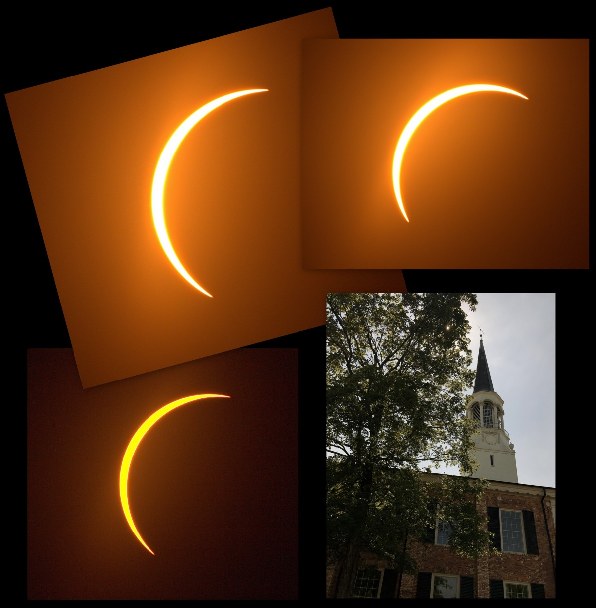 Photography ~ Partial Solar Eclipse, Max,  @ First Presbyterian Church Fayetteville, North Carolina, 08/21