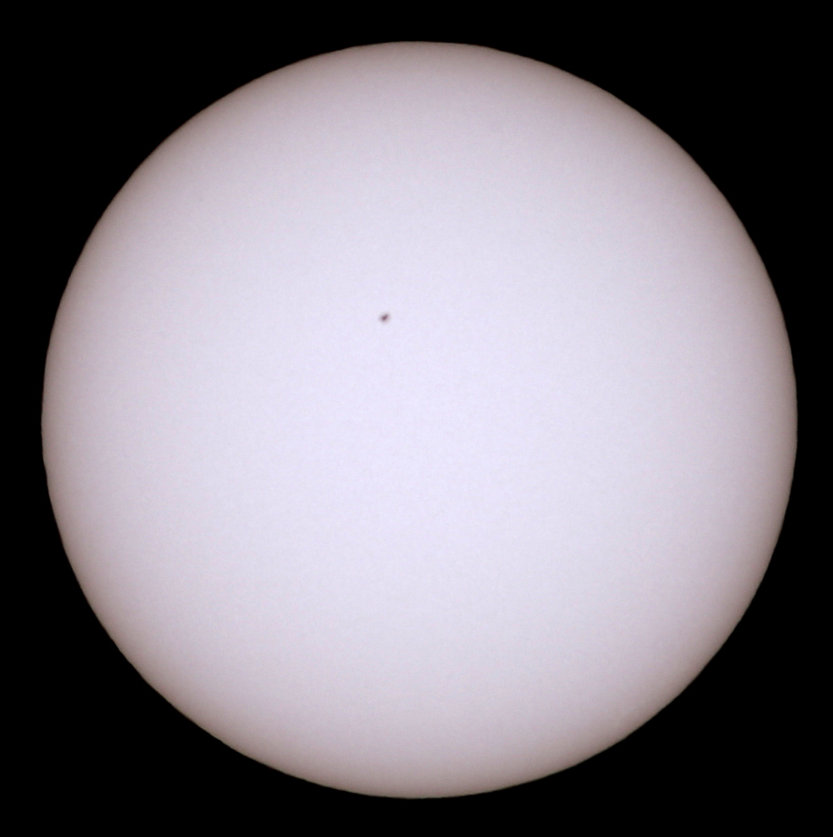 Photography ~ The Sun–Now with a Baader Solar Filter, 09/14