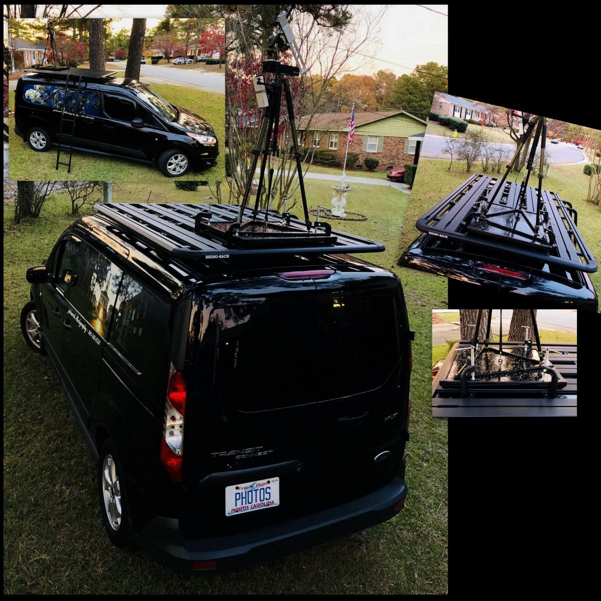 DIY [#36] ~ Tripod Holder for Rhino Rack Pioneer Platform–Clamped & Loaded,11/23