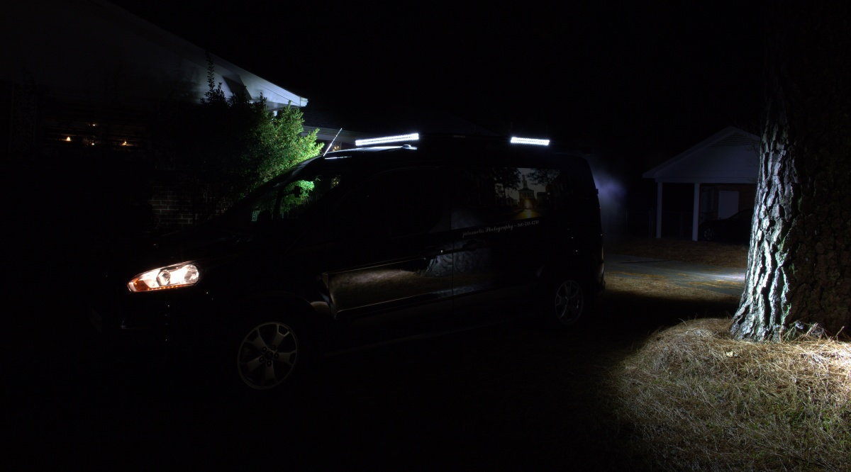 DIY [#37] ~ LED Light Bars & LED Flood Lights–The Results, 12/27